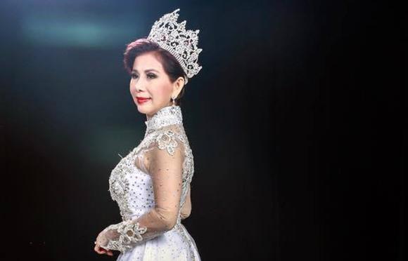 Hoa hậu doanh nhân toàn cầu Lương Thu Hương xứng danh với sắc đẹp và lòng nhân ái
