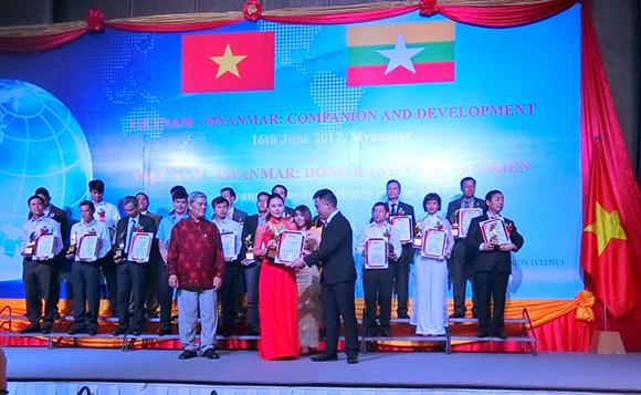 Be Nature xúc tiến thương mại tại Myanmar
