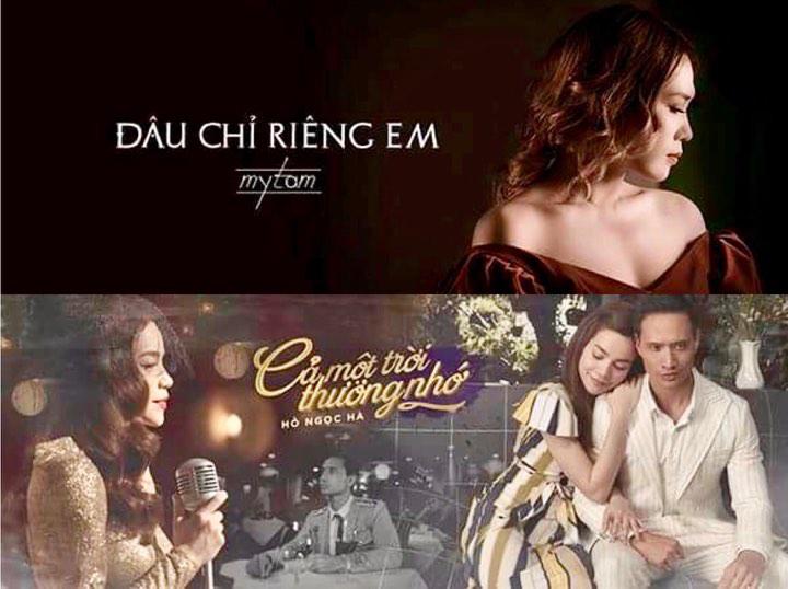 MV Hồ Ngọc Hà và MV Mỹ Tâm đạt thành tích tốt trên YouTube