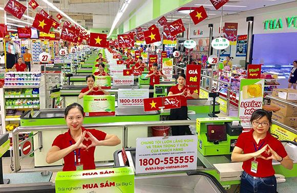Chào mừng Quốc khánh 2-9 : Big C triển khai chương trình Tự hào sản phẩm Việt