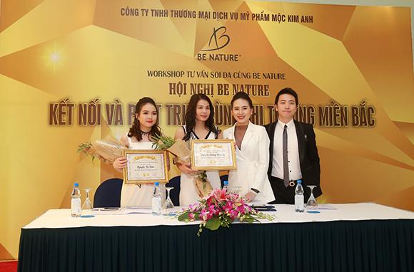 CEO Nguyễn Cao Kim Anh đẹp lịch lãm tại sự kiện Be Nature