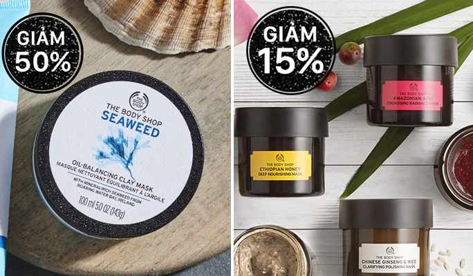 BLACK FRIDAY 2017 – CUỒNG SAY MUA SẮM TẠI THE BODY SHOP