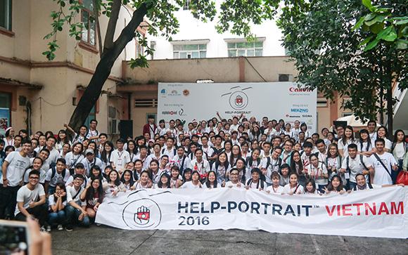 """Gần 1.200 tình nguyện viên và nhiếp ảnh gia sẽ tham gia sự kiện """"Help – Portrait Việt Nam 2017"""""""