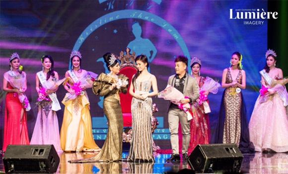 """Hoa hậu Lý Nhã Lan """"chạm"""" đến trái tim công chúng trong đêm chung kết Ms Vietnam Beauty International Peagant 2017"""