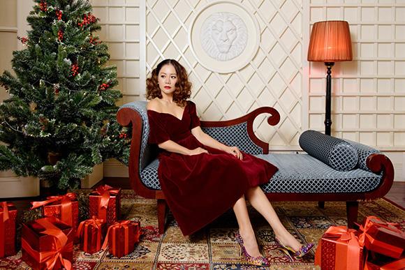 Tammy in Tammy's designs Christmas '17 collection: Bộ sưu tập đầy ấn tượng dành riêng cho mùa lễ hội
