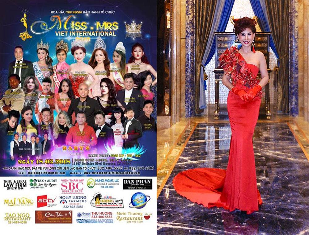 3 Hoa hậu của Miss & Mrs Viet International 2018 sẽ được tài trợ học lớp diễn xuất của tài tử điện ảnh Hollywod Ron Becks