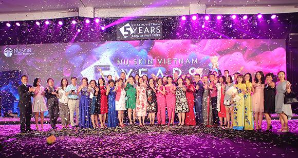 Kỷ niệm 5 năm hoạt động, Nu Skin hướng đến mục tiêu 'phát triển mạnh mẽ & bền vững' tại Việt Nam
