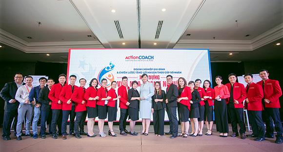 """ActionCOACH CBD Firm tổ chức thành công chuỗi sự kiện """"Doanh Nghiệp Gia Đình & Chiến Lược Tăng Lợi Nhuận Theo Cấp Số Nhân"""""""