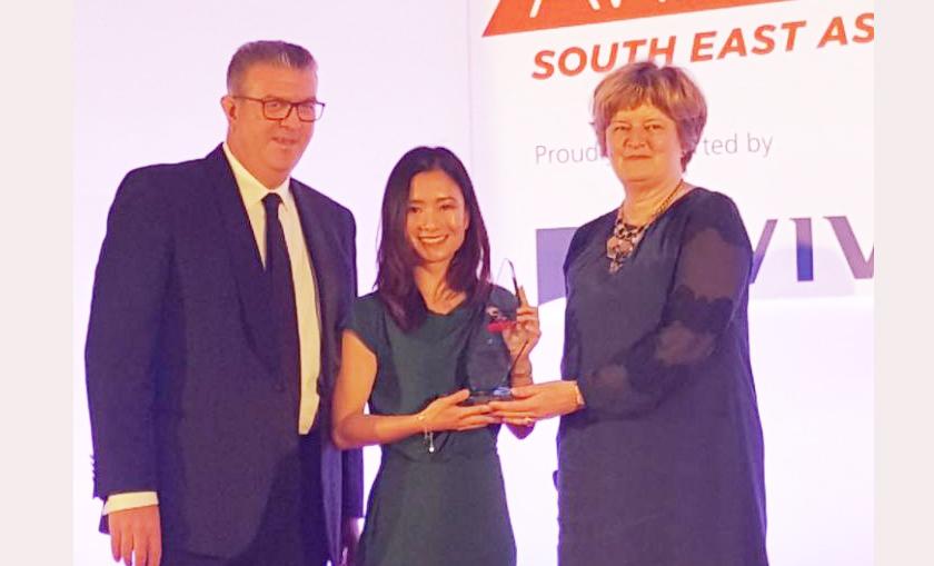 """Nữ giám đốc CBRE Việt Nam tại Hà Nội nhận giải thưởng """"Phụ nữ lãnh đạo trong tương lai"""" khu vực Đông Nam Á"""