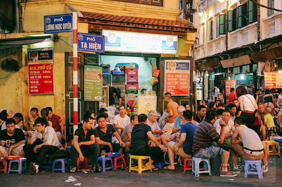 Ẩm thực đường phố vào nhà hàng