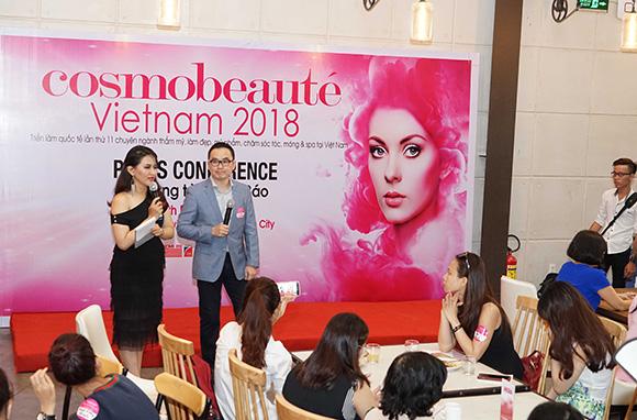 Hơn 200 doanh nghiệp làm đẹp uy tín tham gia triển lãm Cosmobeauté Vietnam 2018