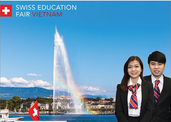"""Lần đầu tiên Tổng Lãnh Sự Thụy Sĩ tại TP.HCM tổ chức """"Ngày Hội Du Học Thụy Sĩ"""""""