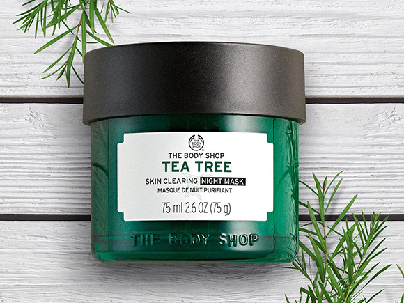 "The Body Shop ra mắt sản phẩm ""Tea Tree Anti - Imperfection Night Mask mới"""