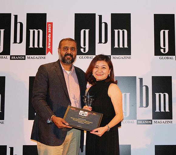 """CapitaLand Vietnam xuất sắc đạt giải thưởng """"Thương hiệu Chủ đầu tư Sáng tạo 2017"""""""