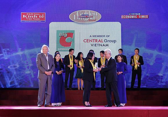 Big C và Central Group Việt Nam vinh dự nhận giải thưởng Rồng Vàng 2017 - 2018
