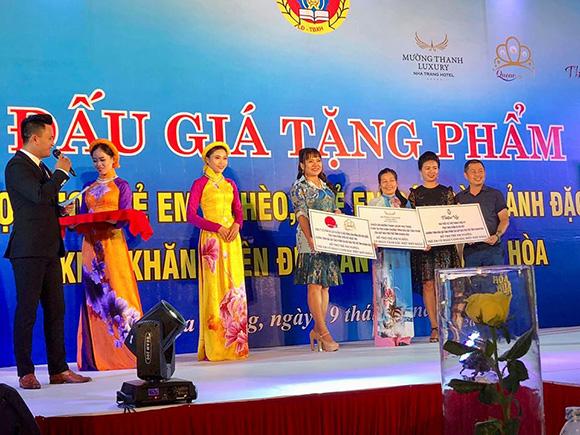 Á khôi Hồ Thanh Hương gởi tâm thư cảm ơn sự chu đáo của các cấp lãnh đạo tỉnh Khánh Hòa