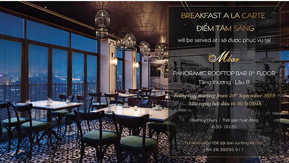 Khai trương M.BAR - Quán Bar tầng thượng sang trọng mang phong cách cổ điển giữa lòng Sài Gòn