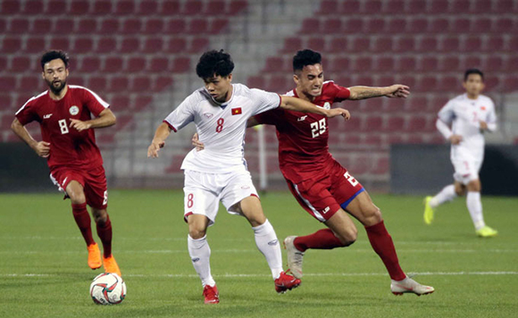 Việt Nam thắng Philippines trước Asian Cup