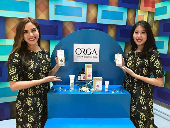 ORGA - Thương hiệu mỹ phẩm cao cấp đã khắng định được uy tín trên thị trường