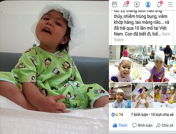 Cho đi là nhận lại, doanh nhân Nga Nguyễn tha thiết kêu gọi bạn bè cùng giúp cháu bé ở Sơn La