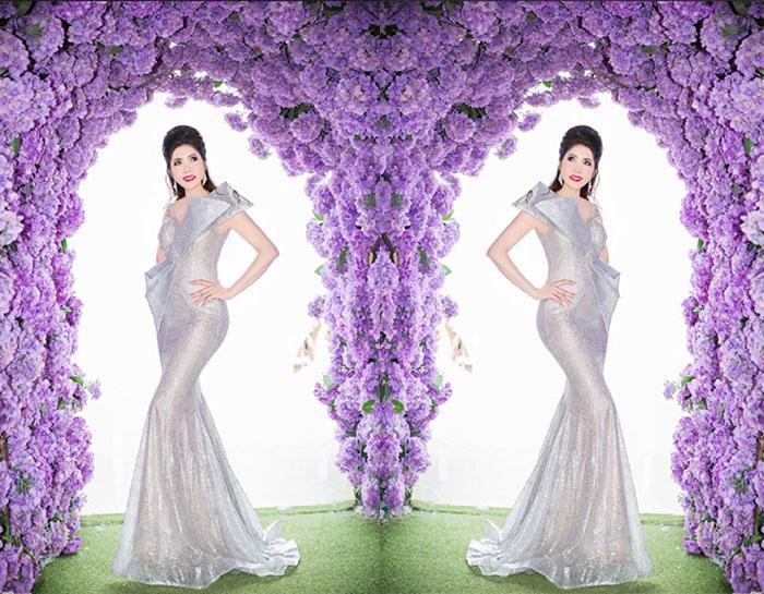 """Hoa hậu, CEO Michelle Huỳnh """"gây mê"""" với dạ hội khoe body chuẩn"""