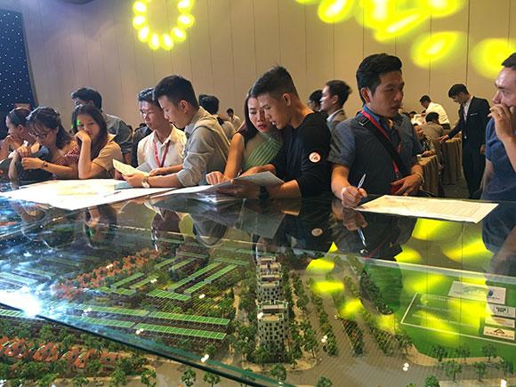 Giá đất tại huyện Long Thành tăng mạnh, thu hút giới đầu tư.