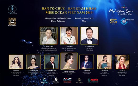 Ai sẽ ngồi vị trí giám khảo Miss Ocean Vietnam