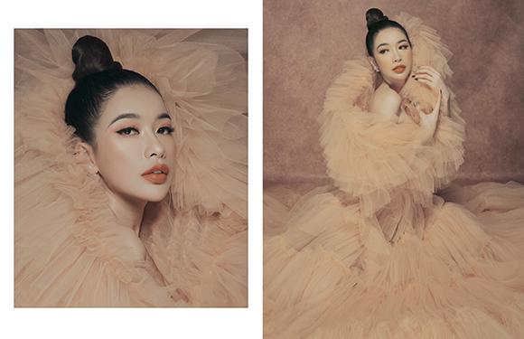 Công chúng dành lời khen tuyệt đẹp trong loạt ảnh mới của Hoa hậu Nguyễn Hoàng Phụng