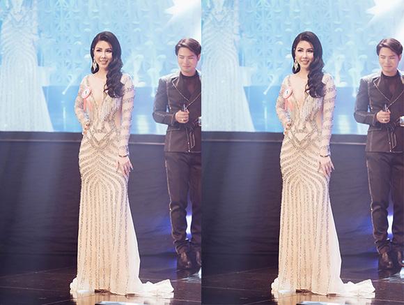 Cô gái Hà Thành đăng quang danh hiệu Hoa hậu người Việt thế giới