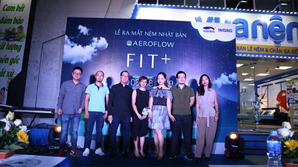 Vua Nệm và tập đoàn INOAC Nhật Bản chính thức ra mắt nệm Nhật Bản Aeroflow Fit+