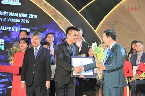 Herbalife Việt Nam được trao giải thưởng doanh nghiệp bền vững trong ba năm liên tiếp