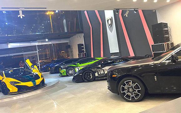 Showroom VOV Super Cars tại TP.HCM đi vào hoạt động