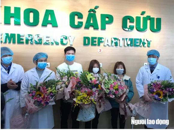 Sáng nay 18-2, thêm 2 bệnh nhân Covid-19 ở Vĩnh Phúc được xuất viện