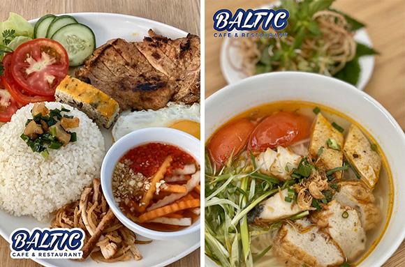Baltic phục vụ gu ẩm thực chuẩn món ăn quen thuộc hàng ngày