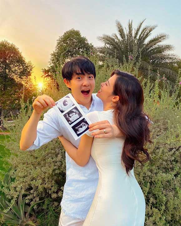 Đông Nhi – Ông Cao Thắng mang thai con đầu lòng, sao Việt rôm rả chúc mừng