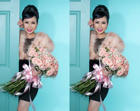 Kristine Thảo Lâm thực hiện bộ ảnh đón tuổi mới