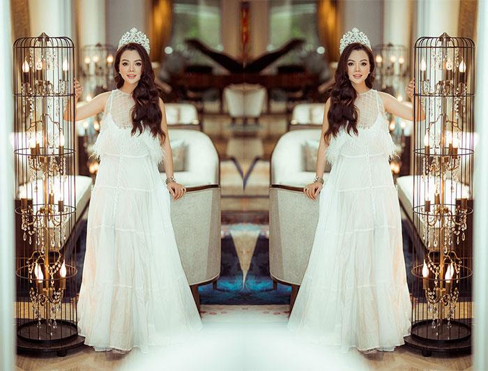 """Hoa hậu Ruby Anh Phạm"""" Giá trị của phụ nữ văn minh hiện đại là biết làm chủ bản thân và tạo sự lan tỏa trong cộng đồng"""