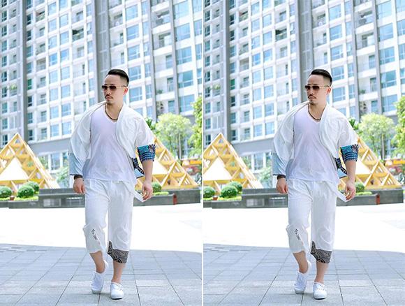Gu thời trang đường phố trẻ trung của ca nhạc sĩ Huỳnh Nhật Đông