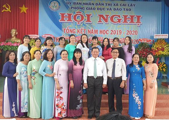 Tiền Giang: Ngành giáo dục thị xã Cai Lậy với nhiều kết quả đáng khích lệ