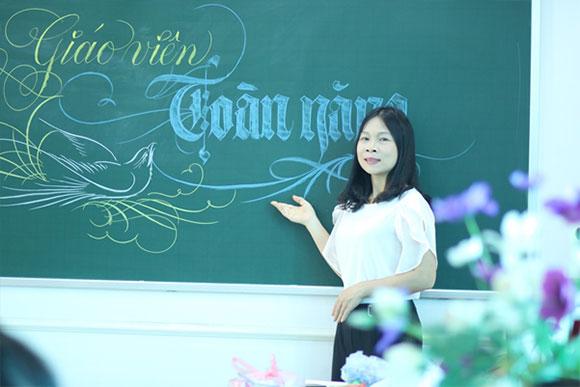 Cô giáo Tạ Thị Vân: RÈN NÉT CHỮ - LUYỆN NẾT NGƯỜI