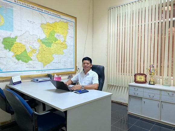Thạc sĩ Võ Văn Thịnh, tìm giải pháp phát triển bềnh vững cho năng xuất cây cà phê tại huyện Di Linh, tỉnh Lâm Đồng