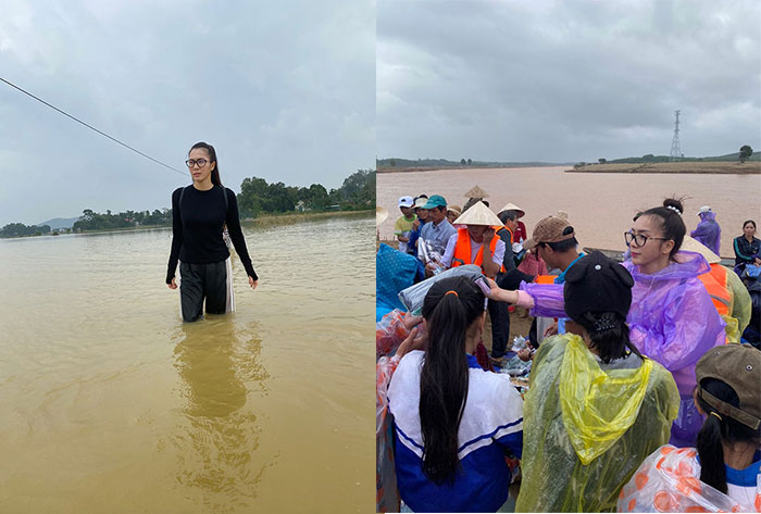 Tấm lòng đầy nhân ái của Nguyễn Thùy Chi với dân nghèo miền Trung