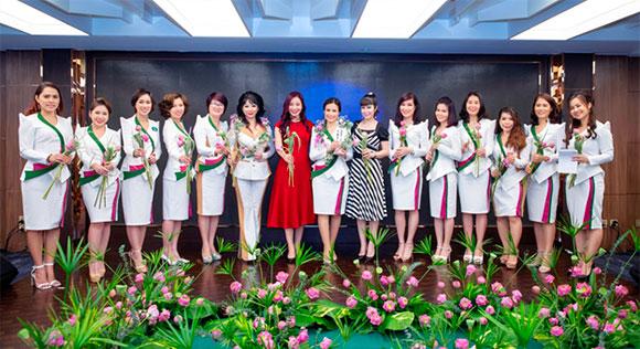 """CEO Nhã Mai """"Mong muốn mọi người cùng chung tay xây dựng để CLB của chúng ta ngày càng phát triển vì sự tiến bộ của phụ nữ"""""""