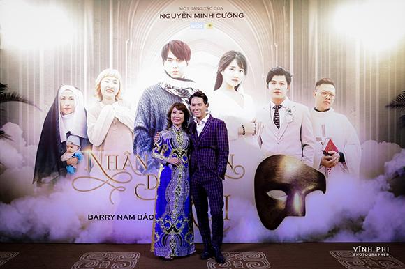 Dàn sao tụ hội chúc mừng Barry Nam Bảo ra mắt ca khúc mới