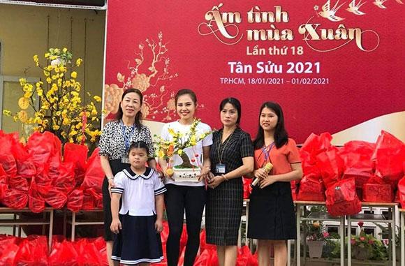 TP.Hồ Chí Minh: Xuân đến sớm với trẻ em trường chuyên biệt Ánh Dương