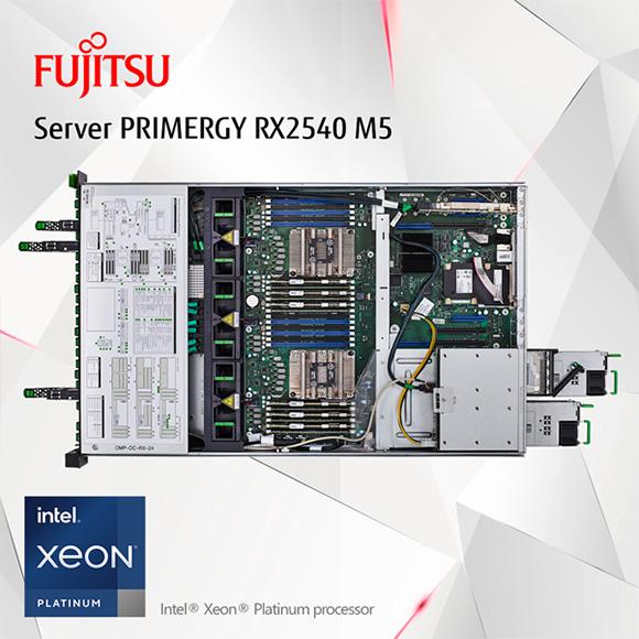 Siêu phẩm Fujitsu PRIMERGY GX2460M1 và RX2540M5 – tích hợp chip xử lý Intel® Xeon® Platinum processor