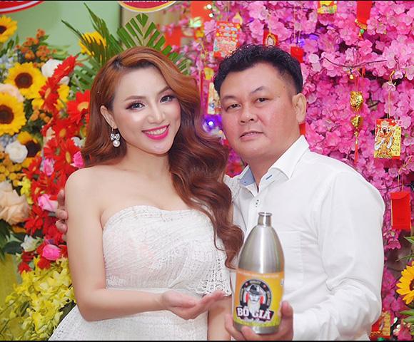 Hoa hậu Jenny Tuyến chính thức là đại sứ thương hiệu cho Bia Bố Già