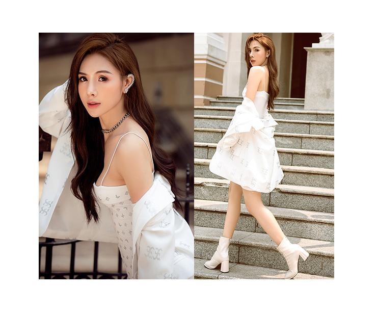 Ca sĩ Linh Lê nữ Blog girl được các nhãn hàng mời quảng cáo