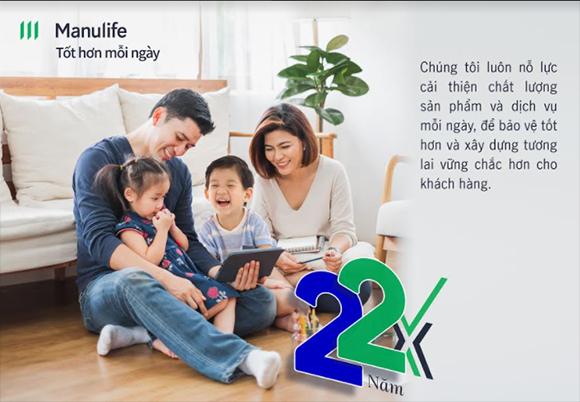"""Manulife Việt Nam kỷ niệm 22 năm thành lập – tiếp tục thực hiện cam kết vì cuộc sống """"Tốt Hơn Mỗi Ngày"""""""