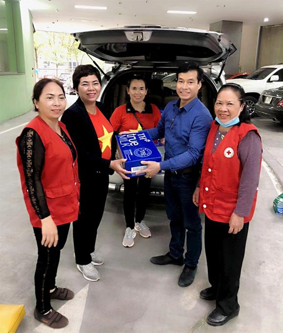 Tổng giám đốc công ty Đại Đồng Thủ Đô- Góp phần chia sẻ khó khăn với bà con trong dịch bệnh